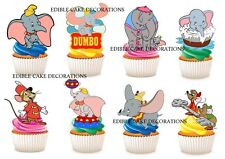 30 DUMBO STAND UP Edible Cupcake Fairy Cake Topper Edible Decorations