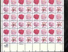 SCOTT#1876-79, 18C STAMP FLOWERS OF AMERICA SHEET OF 48 MNH OG