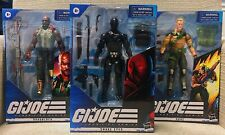 Hasbro 6? GI Joe Classified Wave 1 SNAKE EYES, DUKE, & ROADBLOCK BUNDLE! ?