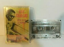 """Ray Charles """"Sittin' On Top Of The World"""" Cassette Tape 1994 Canada Eclipse"""
