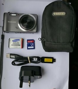 Samsung WB600 12.0 MP Digital Camera  + 4 GB Memory Card & camera Bag