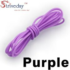 1 meters Purple 30AWG Flexible Silicone Wire Outer Diameter 1.2mm DIY Cable line