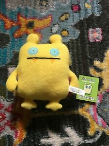 "Little Uglys Uglydolls - Nandy Bear 8"" Plush Stuffed plush  Yellow"