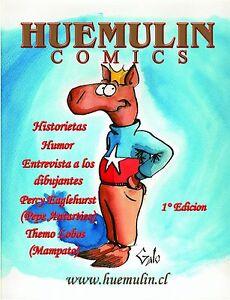 Huemulin Comics Dibujante Jaime Galo Tebeos Cartoons Historietas Caricaturas