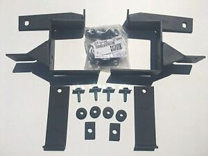 Go Rhino Push Bumper BRACKET KIT ONLY for 2003-2011 Ford Crown Victoria: 5038TK
