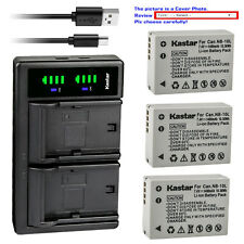 Kastar Battery LTD2 USB Charger for Canon NB-10L CB-2LC & Canon PowerShot G16