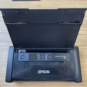 Epson Workforce WF-100 portable, colour printer + ink set