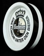 Warsteiner, Bier, Faßboden Werbeschild in Echtholz Optik, weiß