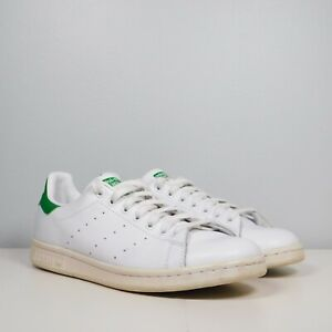 Adidas Stan Smith Trainer Sneakers Women's Size 9.5 White / Green B24105