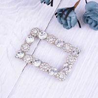 rhinestone crystal shoe clips bridal wedding shoes buckle decor accessories_JO