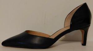 """NEW!! Franco Sarto Blue Demille Leather Pumps 2.5""""  Heels Size 8.5M US 38.5M EUR"""