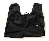 FILA Mens Track Warmup Active Run Athletic Nylon Sports Jogger Pants XL