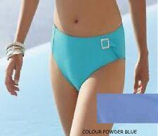 PANACHE SORRENTO-HIGH WAISTED BIKINI PANT-SMALL-POWDER BLUE-UK-10