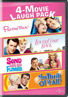 4-Movie Laugh Pack: Pillow Talk / Lover Come Back / Send Me No Flowers / The Thr
