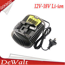Battery Charger For DEWALT DCB105 10.8V-18V Multi Voltage Li-ion Power Tools