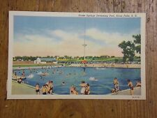 Vintage Postcard Drake Springs Swimming Pool, Sioux Falls, S. D.