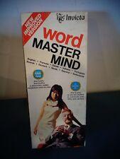 VINTAGE INVICTA WORD MASTER MIND GAME NO 3071 UNUSED NIOB