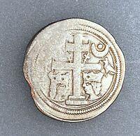 Hungary Slavonia Silver banovac (denar) Bela IV 1235-1270 aVF