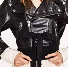 Manteaux et vestes Zara en cuir pour femme