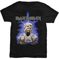 Iron Maiden T Shirt Powerslave Mummy Official Mens Black Tee Trooper Eddie NEW