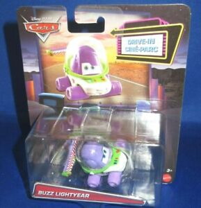 DISNEY PIXAR CARS DRIVE-IN TOY STORY BUZZ LIGHTYEAR COLLECTOR CAR, NEW