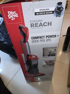 Dirt Devil Endura Reach Upright Vacuum, Bagless, Red UD20124