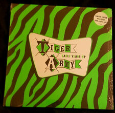 "TIGER ARMY The Early Years 10"" Clear S/S Rare OOP AFI Punk Psychobilly Misfits"