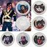 WR 12 PCS  Michael Jason Silver Commemorative Coins Collection Birthday Gifts