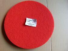 Disques x5 tissus fibre rouge 432mm monobrosse