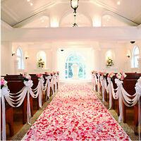 1000pcs Silk Rose Petals Flower Confetti Engagement Wedding  Party Decoration JP