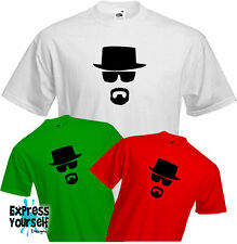 BREAKING BAD- T Shirt, Television, Fun, Cool, Heisenberg