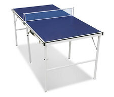 60'' Portable Outdoor Tennis Table Ping Pong Folding Table Indoor Sport Game New