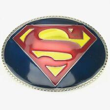 DC COMICS SUPERMAN METAL BELT BUCKLE
