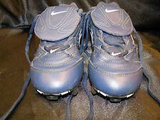 Kids Nike Soccer Cleats Youth Children's Size 2Y Blue 115143 Atheletic Shoes