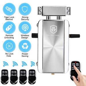 Smart Electronic Door Lock Anti-Theft Home Security Keyless Entry Lock Kit F5T0