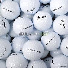 24 Srixon AD333 TOUR Lake Golf Balls AD 333 - Pearl/A Grade Premium Lakeballs UK