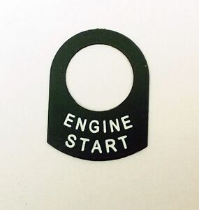 ENGINE START Land Rover Classic RACE RALLY OFF ROAD lucas switch tag