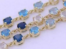 Topaz Tennis 18 - 18.99cm Fine Bracelets