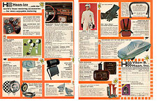 1969 VILEM B HAAN / INTERNATIONAL MOTORING ACCESSORIES - ORIGINAL 2-PG PRINT AD
