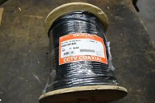 Southwire 1000 Foot Roll RG-6 Direct Burial Coax Wire Cable Black 18AWG CCTV