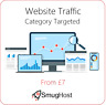 Website Traffic - Targeted by Category - Google & Alexa Safe