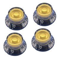 4 Stück Reglerknopf Potiknopf Lautstärkeregler Volumen Knob für Epiphone Lp