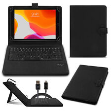 Tablet Hülle Apple iPad 10.2 2019 Bluetooth Keyboard Tasche QWERTZ Tastatur Case