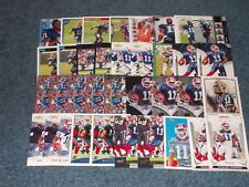 ROSCOE PARRISH 35 CARD LOT WITH 8 ROOKIES BUFFALO BILLS MIAMI HURRICANES