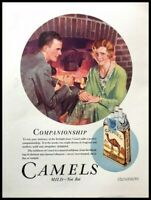 1931 Camel Cigarettes Vintage Advertisement Print Art Ad Poster LG82