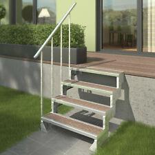 DOLLE Außentreppe Gardentop Einlegestufen Gartentreppe 2 - 14 Stufen