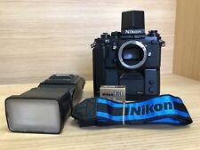 * Quasi Nuovo + + * Nikon F3 fotocamera SLR con azione FINDER DA-2, MD-4, MF-14 dal Giappone