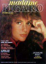 Señora Figaro 1984: JACQUELINE BISSET_BERNARD GIRAUDEAU_OLIVIER DE KERSAUSON
