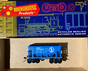 HO Scale Roundhouse 1425 Great Northern Ore Car with Kadee #5's