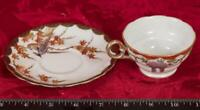Vintage Tea Cup & Saucer Isco Occupied Japan mbh